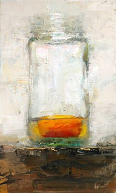 Scott Conary : Yolk I love the textural quality of this painting