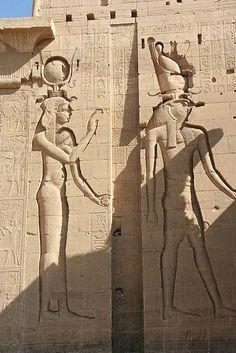 Isis & Horus, Temple of Philae