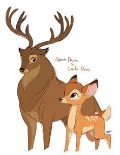 92 Best Bambi art images in 2017 | Disney art, Bambi, Disney