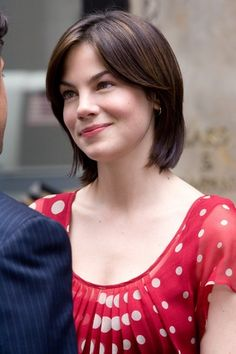 Another view of this cut.Michelle Monaghan, In Made of Honor Michelle Monaghan, Pixie Hairstyles, Bride Hairstyles, Cute Hairstyles, Latest Hairstyles, Short Haircuts, Brunette Beauty, Brunette Girl, Hair Beauty