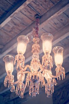 I would love vintage chandeliers