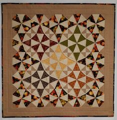 Autumn Quilts, Fiber Art Quilts, Sewing Circles, Shades Of Gold, Quilted Wall Hangings, Fall Decorating, Machine Quilting, Green And Gold, Autumn Leaves