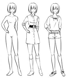 The Anime Girl Full Body Drawing With Clothing could be your desire when making about Best Drawings. After posting this Anime Girl Full Body Drawing With Clothing, our team can guarantee to impress you. Girl Drawing Easy, Girl Drawing Sketches, Body Sketches, Girl Sketch, Body Clothes, Manga Clothes, Drawing Anime Clothes, Drawing Anime Bodies, Anime Girl Drawings