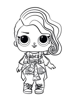 Treasure From Lol Surprise Doll Coloring Pages Printable Ddfff