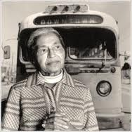 Rosa Parks. Mother of the Civil rights movement.