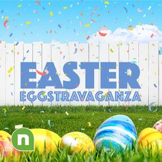 Free easter powerpoint templates download free ppt templates for easter eggstravaganza toneelgroepblik Image collections