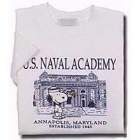 Naval Academy Infant Snoopy T-Shirt