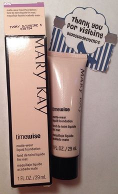 Mary Kay Timewise Matte Wear Liquid Foundation IVORY 5 full size  1 fl oz #MaryKay