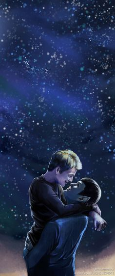 spirk fanart | The Beauty of Kirk and Spock Even if you dont ship it, its a awesome piece of art
