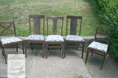 reupolstering chairs