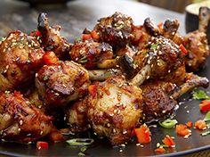 Recetas   Food Network Food Network Asia, Food Network Recipes, Asian Chicken, Tandoori Chicken, Chicken Wings, Chefs, Chicken Lollipops, Asian Recipes, Ethnic Recipes