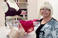 The lady that made Hamilton, Ontario the bra-making capital of the WORLD. #sewing #news