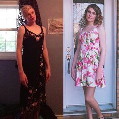 Transgender People Are Sharing Photos Of Their Transitions And It's Gorgeous Male To Female Transgender, Transgender People, Transgender Day Of Visibility, Mtf Before And After, Mtf Transition, Male To Female Transformation, Grace, New People, Good Looking Men