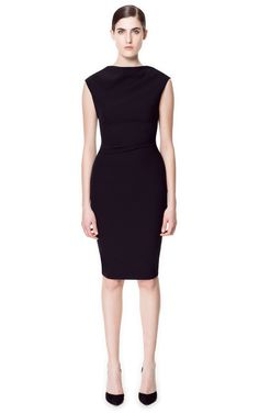 Zara | High Neck Dress