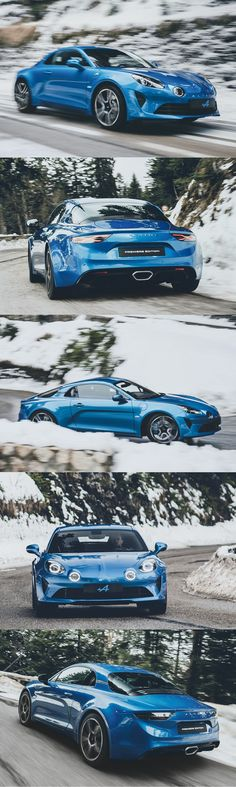 2017 Alpine A110 / 252hp / France / blue / 17-387