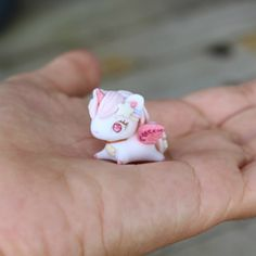 Palm top Unicorn by TheLittleMew on Etsy