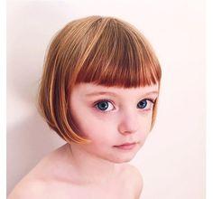 """大きな瞳に金髪ボブ。Instagramで人気のオシャレ少女""""Oliveちゃん""""が可愛すぎる! - Spotlight (スポットライト)"""