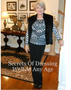 Glossi.com - Secrets of Dressing Well At Any Age