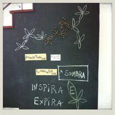 Esta semana pensa... Chalkboard Quotes, Art Quotes, Mindfulness, Inhale Exhale, Consciousness