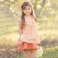 Persnickety Apple Blossom Alice Apron Dress 2N1 - Pink  52