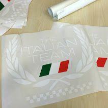 Adesivi da intaglio prespaziati per #Maserati. Cliente: Pin Car Service, #Genova. Per info e preventivi, chiama #Decografic allo 010/9111832 o visita www.decografic.com