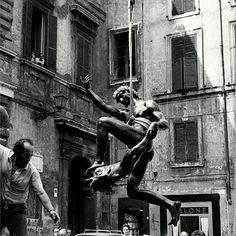 Milton Gendel, Il fauno della fontana delle tartarughe di Piazza Mattei, Roma
