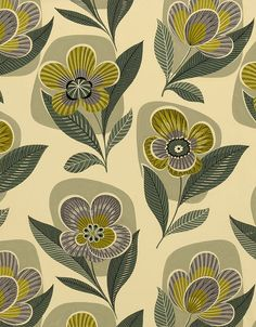 "I can just see this 50's textile on bar cloth! (As seen on the blog ""Fashion Life Style"".)"