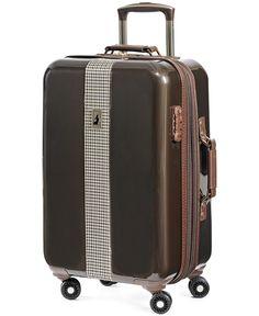 "London Fog Cambridge 21"" Carry On Hardside Spinner Suitcase - Carry-On Luggage - luggage & backpacks - Macy's"