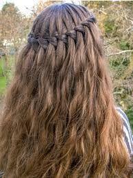 Billedresultat for konfirmations hår fletning