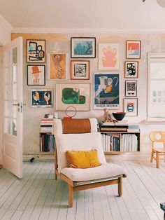 white room with colorful wall art, colorful prints and posters in a white shipla. - white room with colorful wall art, colorful prints and posters in a white shiplap room, white woode - Modern Bathroom Decor, Home Decor Kitchen, Bathroom Ideas, Shiplap Wall Paper, Room Decor Bedroom, Diy Room Decor, Diy Bedroom, White Wooden Floor, Bedroom Decor For Couples