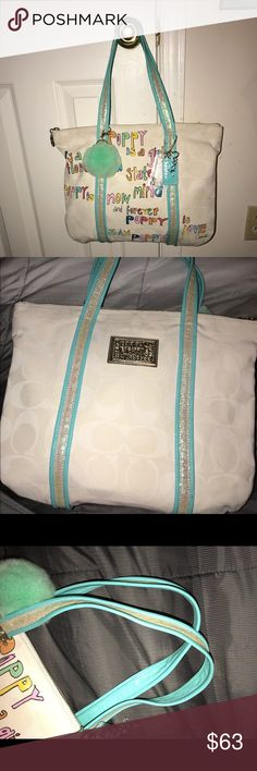 Coach Poppy bag Great condition Coach Bags Totes