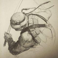 Teenage Mutant Ninja Turtles - Leonardo by Dave Rapoza *