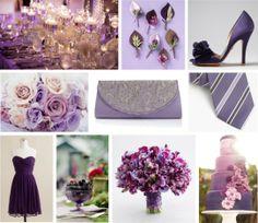 eggplant wedding decor on COUTUREcolorado WEDDING