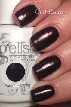 Gelish Inner Vixen from the Shadows Collection. Gel Polish Colors, Gel Nail Polish, Gelish Colours, Nail Polishes, Colorful Nail Designs, Gel Nail Designs, Shellac Nails, Nail Manicure, Mani Pedi