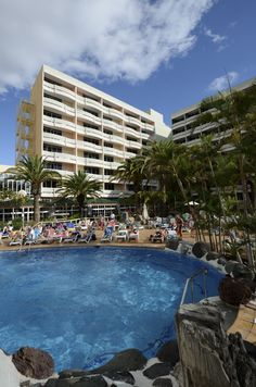 IFA Buenaventura swimming pool, Playa del Ingles, Gran Canaria