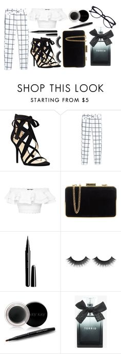"""Black and White 2"" by rachie111 ❤ liked on Polyvore featuring Nine West, MANGO, Alexander McQueen, MICHAEL Michael Kors, Marc Jacobs, Mary Kay and Torrid"