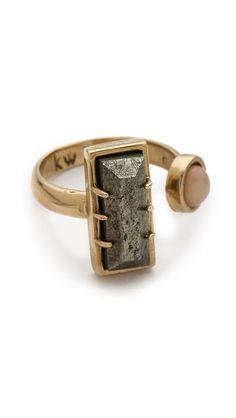 Kelly Wearstler Richmond Ring, $180