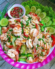Thai Recipes, Clean Recipes, Healthy Recipes, Delicious Recipes, Healthy Food, Laos Food, Thai Street Food, Food Platters, Food Shows
