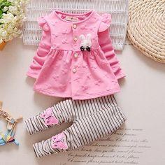 Moda 2017 Bebek Set Nokta Pamuk Bebek Kız Giysileri Çocuk Giyim Seti Kız (pantolon + t-shirt) noel Bebek Elbise Için Mutli-Renk