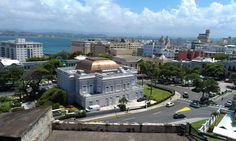 Puerto Rico, Old San Juan and El Yunque. Old San Juan, San Juan Puerto Rico, Historical Sites, Vacation Spots, The Good Place, Caribbean, Tropical, Mansions, House Styles
