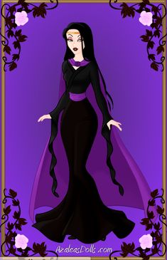 Next Generation Disney Villans: Natasha by KatePendragon on DeviantArt Goth Disney Princesses, Disney Princess Ariel, Princess Art, Disney Villains, Dark Disney, Disney Love, Disney Art, Princesa Anastasia, Art Nouveau Disney