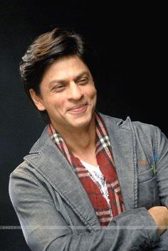 Shahrukh Khan// my favorite Bollywood actor. King Khan