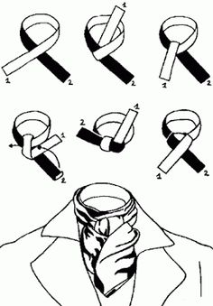 Historical Costume, Historical Clothing, Cowboy Knot, Ascot Ties, Modern Gentleman, Stylish Mens Outfits, Clothing Hacks, Tie Knots, Types Of Fashion Styles