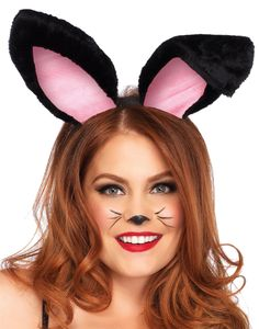 Whether these are the finishing piece to your bunny costume or your solo accessory piece, you'll be the cutest bunny around in these fun plush bunny ears. With one sassy little ear down and the [. Easter Bunny Costume, Easter Bunny Ears, Fluffy Bunny, Bunny Plush, Easter Costumes, Fairy Costumes, Adult Costumes, Bunny Ears Headband, Ear Headbands