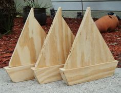 unfinished wood cutout – ofundsco unfinished wood shapes for crafts - Wood Crafts Sailboat Decor, Wooden Sailboat, Woodworking Courses, Woodworking Projects, Boat Crafts, Scrap Wood Projects, Into The Woods, Wood Boats, Wood Cutouts