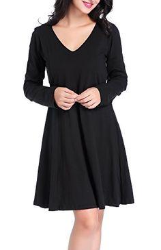 d2924d6a54 Chamllymers Women s Sleepwear Long Sleeve One-piece Pajamas Black XL Plus  Size Sleepwear