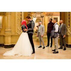 Awww Tahereh and Ransom wedding