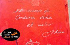 Aprende español callejeando por Madrid: Guerra en la facultad #ELE #español #spanish #poesía