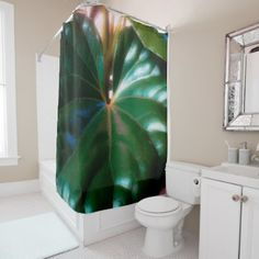 Tractor Seat Plant Shower Curtain - photos gifts image diy customize gift idea
