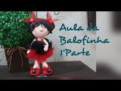 DIY - Menina Porta Caneta - Elisângela Mota - YouTube